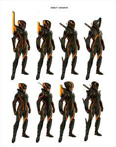 Concept Art World » Tron: Evolution Concept Art by Daryl Mandryk via PinCG.com