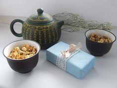 RECEPT: Luxusní mýdlo jasmín & zelený čaj Soap Recipes, Natural Cosmetics, Sugar Bowl, Bowl Set, Homemade, Natural Soaps, Lilies, Home Made, Hand Made