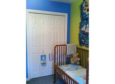bright toddler boy room view 6  (Valspar: Splish Splash, Twist of Lime)