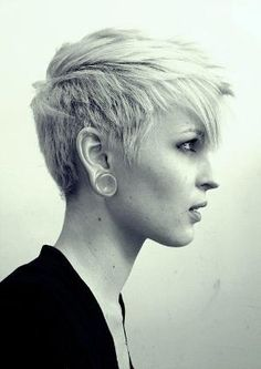 Love this pixie cut by alexandra
