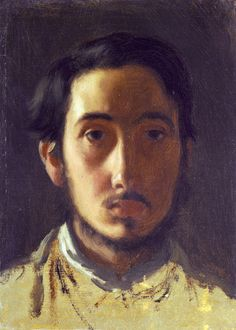 Degas Self Portrait by Edgar Degas