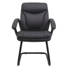 Add seating options to your meeting room or waiting area using this Hilton Visitor Chair. Garden Table And Chairs, Small Accent Chairs, Waiting Area, Bedroom Chair, Furniture Sale, Stuff To Buy, Black, Home Decor, Kitchen