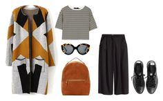 """""""Untitled #3675"""" by michelanna ❤ liked on Polyvore featuring Sophie Hulme, Karen Walker, TIBI, H&M and Golden Goose"""