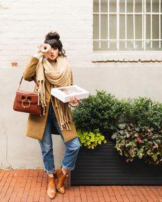 The Seeker Project in Washington, DC - New Darlings Preppy Fall Fashion, Winter Fashion, Washington Dc Fashion, New Darlings, Fall Travel Outfit, She's A Lady, Fall Plaid, Fashion Forward, Winter Outfits