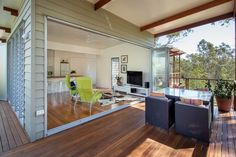 Granny pods prefab One Bedroom Granny Flat by Baahouse + Baastudio One Bedroom House, Single Bedroom, Cabana, Tyni House, House Cafe, Granny Pod, Tropical Architecture, Modern Architecture, House On Stilts