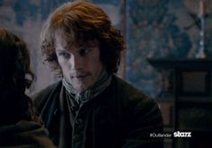 Jamie and Claire at Lallybroch
