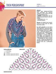 Earwarmer Headband Knitting Patterns - In the Loop Knitting FotoHäkeln Frauen Strickjacke Feigen Free Crochet Pattern - Video , Crochet Shawl Diagram, Crochet Chart, Crochet Motif, Crochet Lace, Crochet Patterns, Crochet Deer, Knitting Patterns, Crochet Scarves, Crochet Clothes