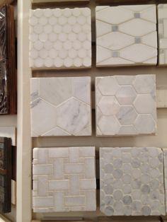 Tile: Kitchen Backsplash or Powder Floor