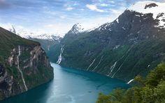 Fjord Dream - Optimised for the Retina display - 2880 x 1800