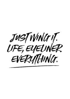Just Wing It Print // Print Make Up Print Life by TheNativeState