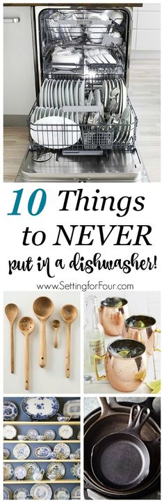 Dishwashers are an a