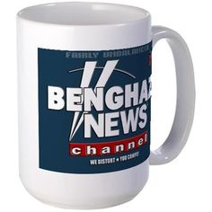 Benghazi News Channel 15 oz Ceramic Large Mug Benghazi News Channel Mugs by Nsaney - CafePress