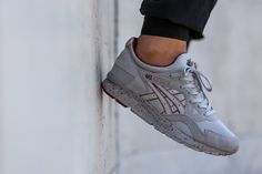 "Asics Gel-Lyte V ""Grey/Red"""