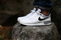 The Nike Air Odyssey in white / black is now available at www.the-upper-club.com