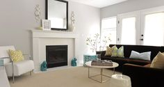 Living room by Andrea Johnson Design