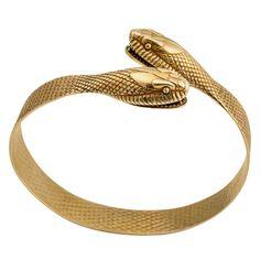 Gold Snake #Bracelet