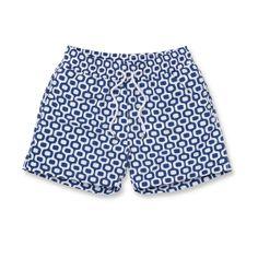 Ipanema Sports Swim Shorts in Navy Blue for Men from Frescobol Carioca - Rio de Janeiro | SHOP ONLINE