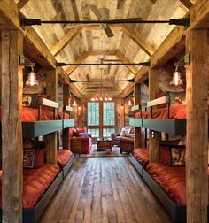 country bunk beds.