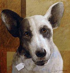 Dog IV by artist Lopez Herrera