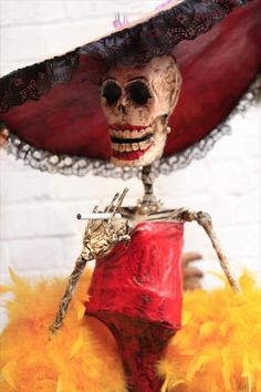 You can't help but smile at Dia de los Muertos decorations.