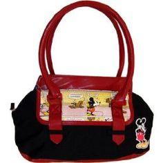 Gotta love Micky Mouse on a handbag!