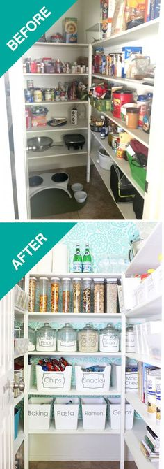 25 Absolutely Gorgeous Home Organizing Before and Afters -- HouseBeautiful.com