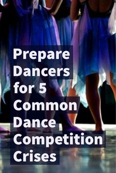 Between ripped tights, performance missteps and glitchy audio, there are lots of things that can go wrong at a dance competition. Here are a few tips to prepare for common problems at competitions.