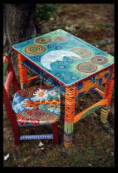 Whimsical Desk Set by ReincarnationsDotCom on deviantART