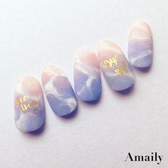 47 Ideas for nails 2018 rose Pretty Nail Designs, Nail Art Designs, Nails Design, Love Nails, Fun Nails, Korean Nail Art, Nailart, Nails 2018, Trendy Nail Art