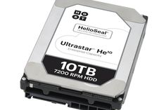 WD unveiled a 10TB helium-filled hard drive that represents a 25% increase in…