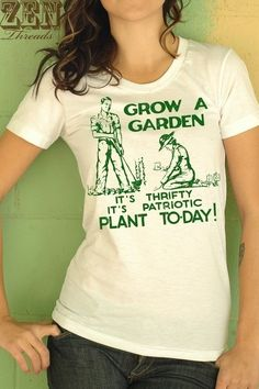 549ec8a5718 Retro victory garden inspired tshirt would be great gift for a gardener