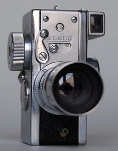 Vintage Camera Steky miniature spy camera - Simply choose the item or spot you want to place your camera and you can be streaming live footage within minutes! 3d Camera, Camera Photos, Movie Camera, Camera Gear, Best Camera, Digital Camera, Camera Tips, Camera Hacks, Vintage Cameras