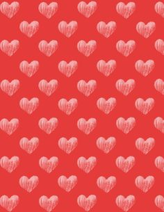 8x11 Valentine design for scrapbooking and paper crafting