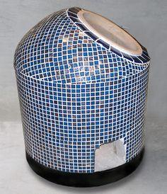 Tandoori oven plate and stones for small tandoori oven