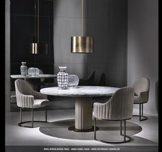 Round Round Round Dining Room Ideas. Daytona Collection.