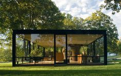 1949, Philip Johnson's Glass House