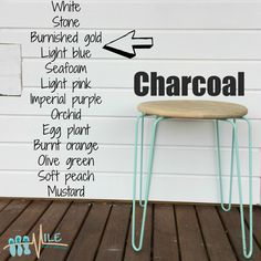 Charcoal goes with...
