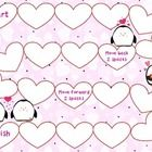 Free! Very cute open ended Valentine gameboard