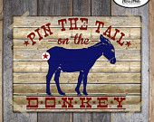 Farm Party - Barnyard Birthday Party - Complete Collection - Toppers, Banner, Favor Tags & More - Customized Printable (Tractor, Vintage). $38.00, via Etsy.
