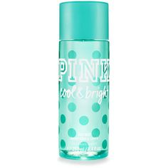 PINK Cool & Bright Body Mist ($18) ❤ liked on Polyvore featuring beauty products, fragrance, beauty, perfume, makeup, fillers, print, parfum fragrance, perfume fragrance and fruity perfumes