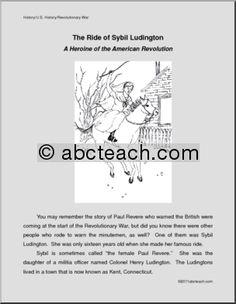 All Things John Adams: Coloring Pages: Deborah Sampson And ...