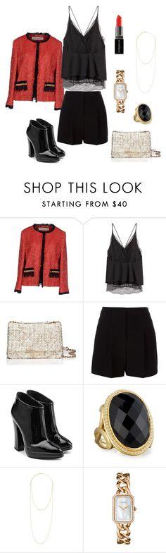 """summer outfit"" by juliabartyzel on Polyvore featuring moda, Shirtaporter, Kate Spade, DKNY, Giuseppe Zanotti, JudeFrances, Jennifer Zeuner, Chanel i Smashbox"