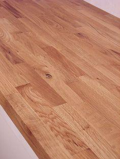 Arbeitsplatte / Küchenarbeitsplatte Wildeiche / Eiche rustikal 40/4100/650 - Küchenarbeitsplatten ONLINE SHOP