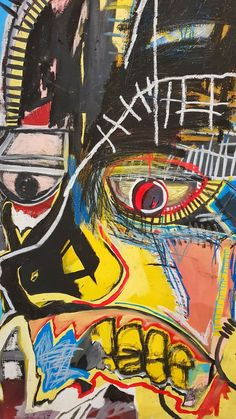 Basquiat Jean Michel - Sites new Jean Michel Basquiat Art, Jm Basquiat, Basquiat Paintings, Modern Art, Contemporary Art, Trash Art, Identity Art, Junk Art, Arte Pop