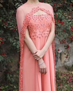 Indian jumpsuit with cape