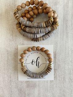 The Oil Haven Boutique Beaded Jewelry, Jewelry Bracelets, Handmade Jewelry, Handmade Beaded Bracelets, Jewellery, Bijoux Design, Jewelry Design, Essential Oil Jewelry, Essential Oils