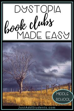 7 Steps to Create Book Clubs with Dystopia Literature - Just Add Students Middle School Libraries, Middle School Reading, Middle School English, Middle School Classroom, English Classroom, Art Classroom, Classroom Themes, High School, British Literature