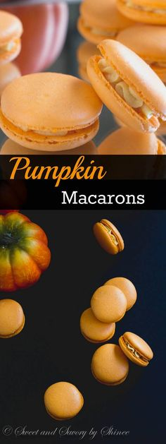 Celebrate fall with these pumpkin French macarons. Easy to follow step-by-step photo tutorial is included.