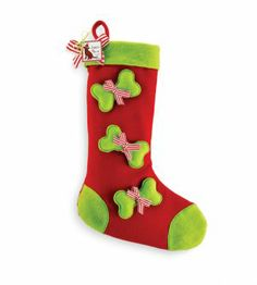 Swoozies Dog Christmas Stocking