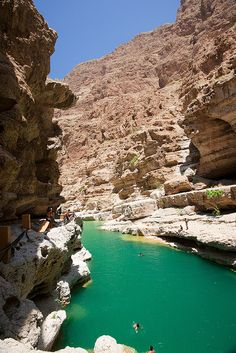 Wadi Shab valley by rubared, via Flickr